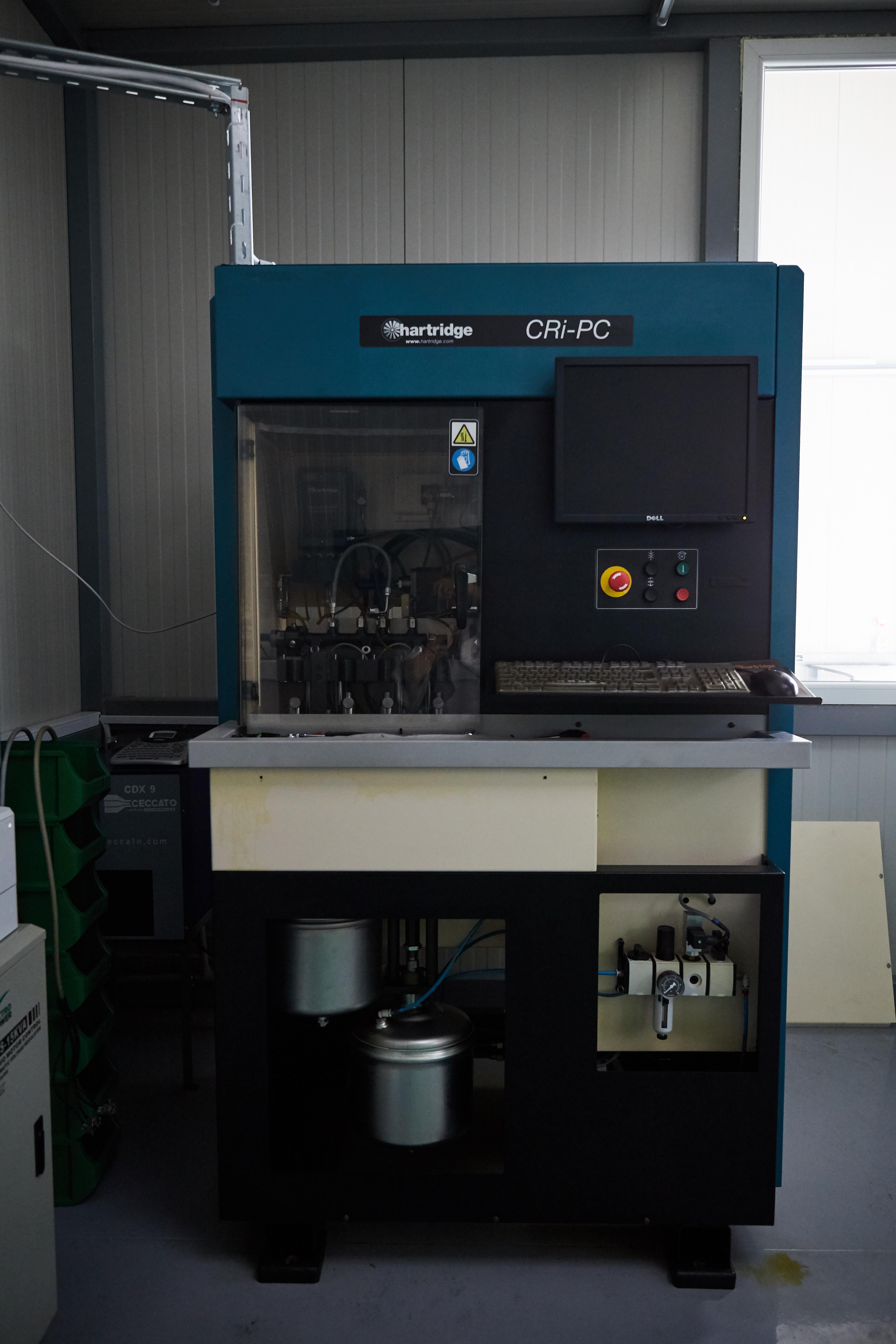 CRi-PC de la Hartridge, banc de probe si calibrare injectoare Delphi